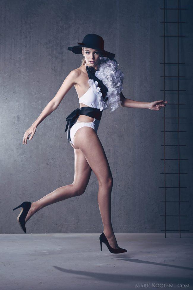 Sfeerfotos modefotografie op locatie voor Fantasy Design lingerie door fotograaf Mark Koolen in Amsterdam