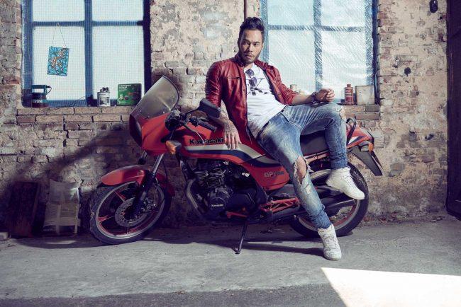 Bedrijfsfotografie met Kawasaki motor om het een stoer imago te geven door fotograaf Mark Koolen Amsterdam