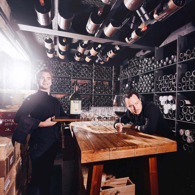 Photoshoot Michelin chef Adrian Zarzo by Mark Koolen luxury gastronomy photography